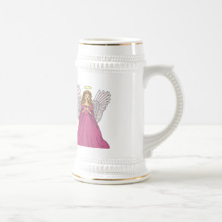Angel 3 beer stein