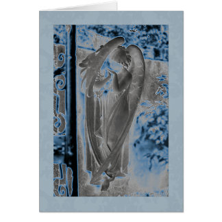 Angel 6 greeting card