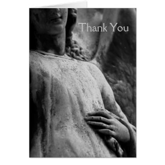 Angel 6 Sympathy Thank You note Card