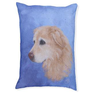 Angel, a Golden Retriever Dog Bed