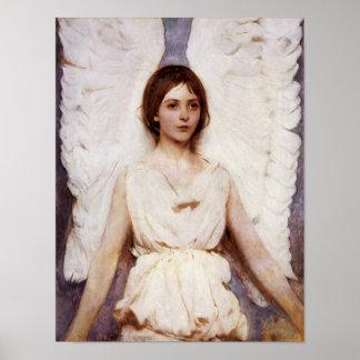 Angel, Abbott Handerson Thayer Fine Art Poster