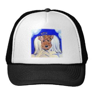 Angel Airedale Terrier Cap