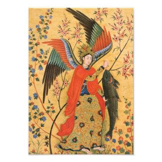 Angel and Fish Photo Print