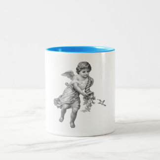 Angel and Humming Bird Mug