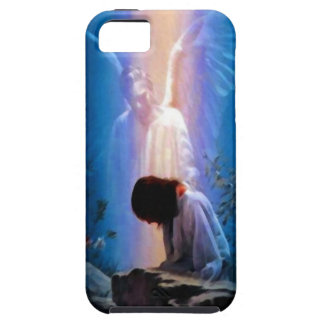 Angel and Jesus iPhone 5 Cover