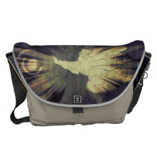 Angel and the universe commuter bag