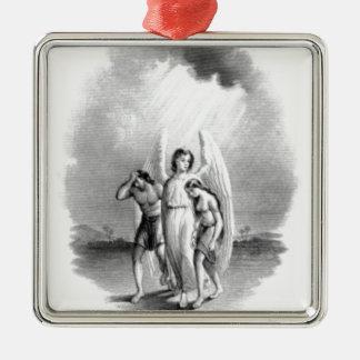 Angel Archtype Metal Ornament