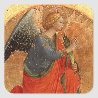 Angel at Annunciation Square Sticker