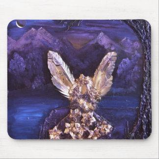 Angel At Sunrise Mousepad