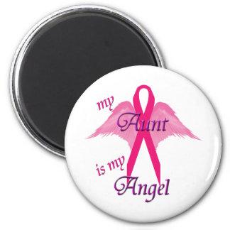 Angel Aunt 6 Cm Round Magnet