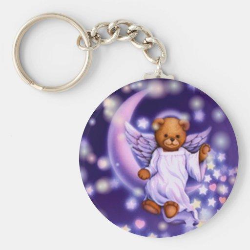 Angel Bear Keychain