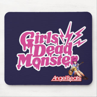 Angel Beats. Girls Dead Monster Mouse Pad