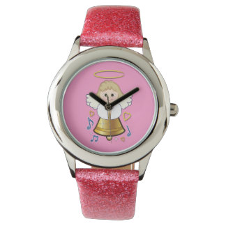 Angel Bell with Hearts and Notes Watches