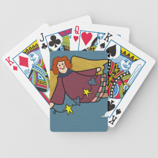 Angel Bicycle Playing Cards