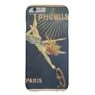 Angel & Bicycle Wheel Vintage French Ad Poster Barely There iPhone 6 Case