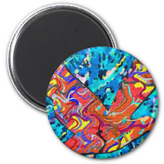 Angel Bird 6 Cm Round Magnet
