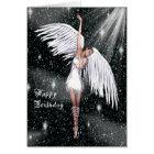 Angel Birthday Card