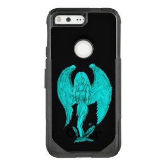 Angel , Black and Green design OtterBox Commuter Google Pixel Case