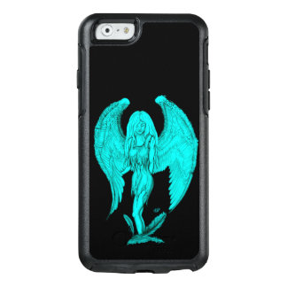 Angel , Black and Green design OtterBox iPhone 6/6s Case