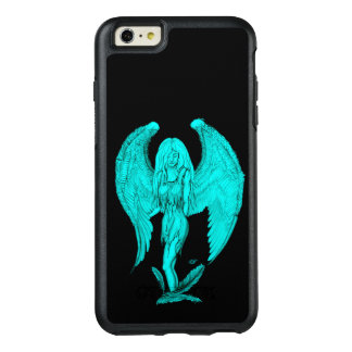 Angel , Black and Green design OtterBox iPhone 6/6s Plus Case