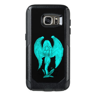 Angel , Black and Green design OtterBox Samsung Galaxy S7 Case