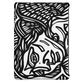 Angel Black and White Case For iPad Air