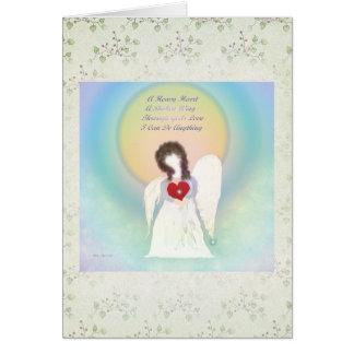 Angel Blank Note Card