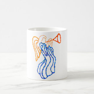 Angel Blowing a Horn Mugs