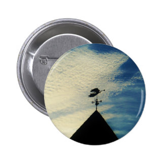 Angel BLOWING HORN WEATHER VANE Buttons