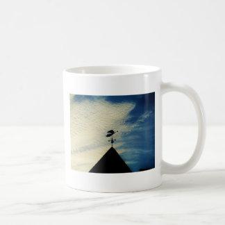 Angel BLOWING HORN WEATHER VANE Mug