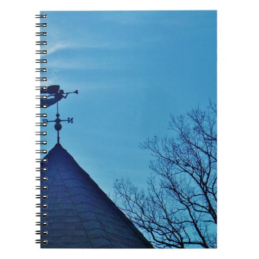 Angel BLOWING HORN WEATHER VANE Note Books