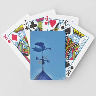 Angel BLOWING HORN WEATHER VANE Playing Cards
