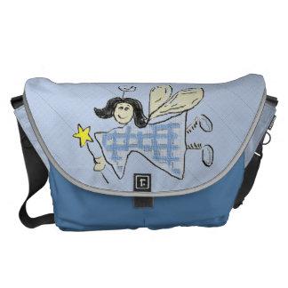 Angel (blue) Diaper Courier Bag
