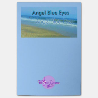Angel Blue Eyes Post-It Notes Post-it® Notes