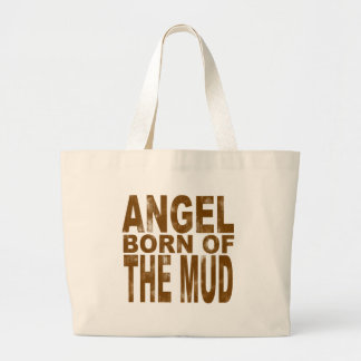 Angel Born of the Mud Jumbo Tote Bag