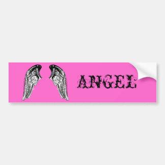 angel bumper stickers