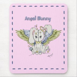 Angel Bunny Mouse Pad