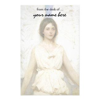 Angel by Abbott Thayer, Vintage Victorian Fine Art Personalised Stationery