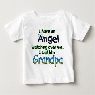 ANGEL CALLED GRANDPA TEE SHIRTS