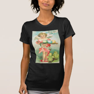 Angel Cherub Easter Chick Colored Egg T-Shirt