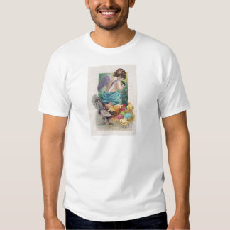Angel Cherub Easter Egg Chick Rooster Shirts