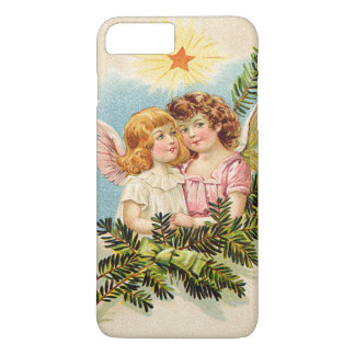 Angel Cherub Evergreen Bough Heaven iPhone 7 Plus Case