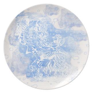 Angel&Cherub Plate
