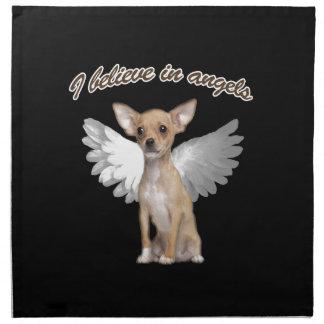 Angel Chihuahua Napkin
