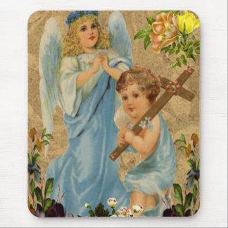 Angel Children Mouse Pad