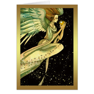 Angel Christmas Card - Season's Greetings