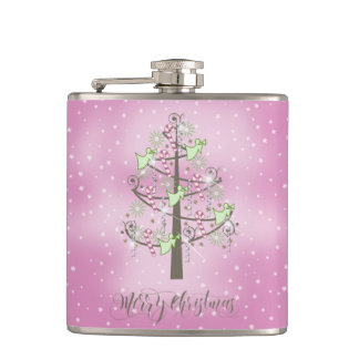 Angel Christmas Tree Orchid Pink ID197 Flask