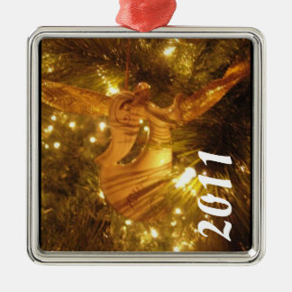 ANGEL CHRISTMAS TREE ORNAMENT WITH YEAR TEMPLATE