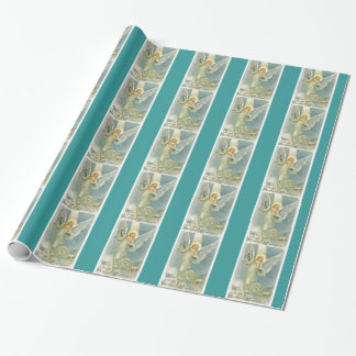Angel Christmas Wrapping Paper