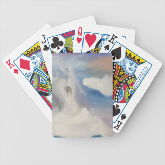 Angel Clouds Bicycle Playing Cards